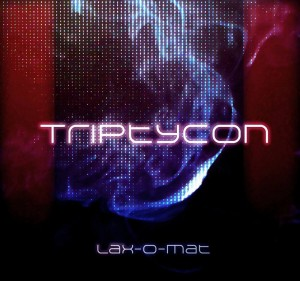 Cover lax-o-mat - Triptycon EP