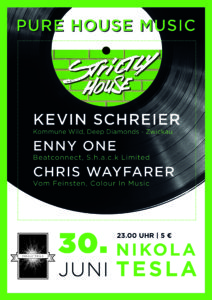 Strictly House @ Nikola Tesla, Chemnitz