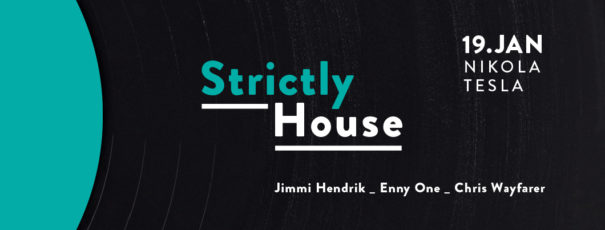 19.01.2018 - Strictly House @ Nikola Tesla, Chemnitz_with Jimmi Hendrik